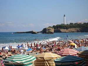 France Biarritz Grande Plage 300x225 Biarritz Beach, Meet Atlantic Margins