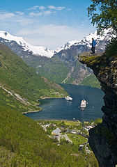 Geirangerfjord Scandinavia, The Beauty of the North