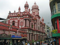 Nice Decoration of Jami Ul-Alfar Red Mosque in Colombo City