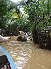 Mekong Delta river Vietnam, Stunning Destination for Photographer