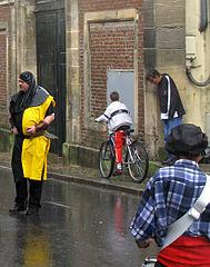 Rue Notre Dame sous la pluie 1a Romantic Rain at Notre Dame de Paris