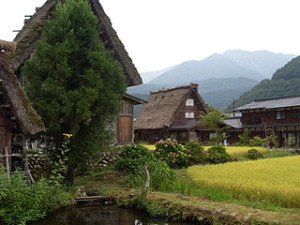 Traditional Japanese village Shirakawa go 300x225 Nagoro, Mysterious Dolls Village in Japan