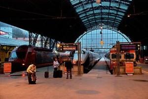 Bergen Station with three trainsx 300x200 Travel Around Bergen of Norway Fyord