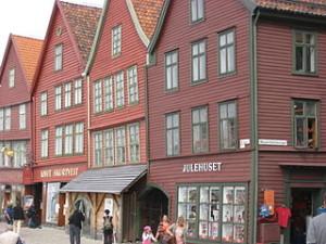 Bryggen 300x225 Travel Around Bryggen Hanseatic Wharf Complex