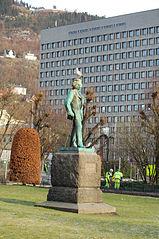 Edvard Grieg Statue Bergen Norway Must Visit Festival in Bergen