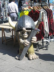 Norwegischer Troll Buy Souvenir in Oslo