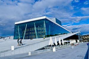 Oslo opera house 300x199 Watch Ballet in Oslo Opera House
