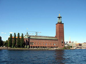 Stockholm City Hall 300x225 Amazing View of Stockholm City Hall