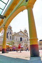 Plaza Miranda and Quiapo Church Dangerous District in Manila