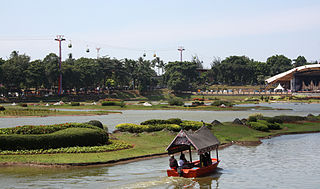 Boat ride at TMII Refreshing Natural Travel Places Around Jakarta