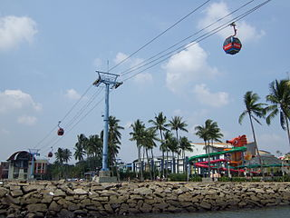 Cable car Gondola Ancol Jakarta Bay City Recommended Unique Family and Friend Travel Places in Jakarta