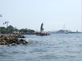 Sailboat Jakarta bay Popular Travel Destination for Family and Friends Around Jakarta