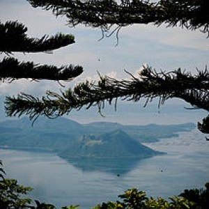 Taal Volcano view from Tagaytay 300x300 Popular Travel Destinations in Calabarzon