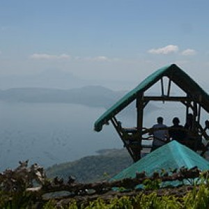 View of taal lake from Tagaytay 300x300 The Smallest Volcano in the World