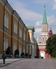 Kremlin Arsenal and Nikolskaya Tower The History Russian Revolution & Imperialism