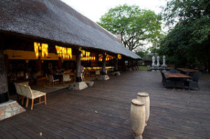 Mfuwe Lodge Dining Area 300x199 The Mfuwe Lodge Zambia Elephants Lobby