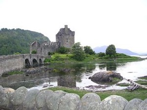 Scotland EileanDonan3 300x225 The Kelpie Statues of Scotland will Open in April 2014