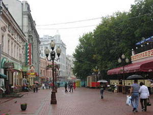 Moscow   ulitsa Arbat 300x225 Cheap Souvenir Shopping Market in Moscow