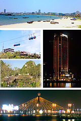 Da Nang Montage Backpacking Travel Around Vietnam