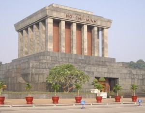HAN HCM Mausoleum 300x234 Free Attractions in Hanoi and Ho Chi Minh City