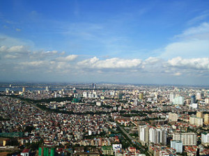 Hanoi Cityscape 300x225 Travel Around Hanoi