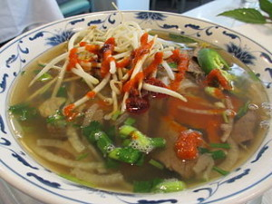Pho dish 300x225 The Best Vietnam Street Food & Hanoi Restaurant