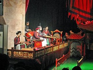 Water Puppet Theatre Vietnam 300x225 Vietnam Water Puppet Show Theater