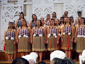 maori tribe festival 300x225 New Zealand Geographic Demographic and Languages