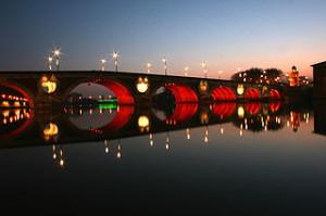 Pont-Neuf_Toulouse_Night